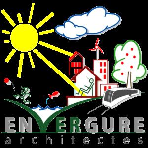 Logo envergure architectes